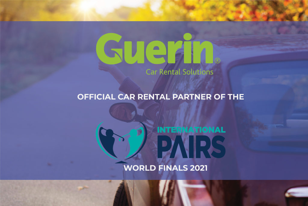 Guerin partners with International Pairs World Final